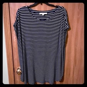 Loft XL Striped top